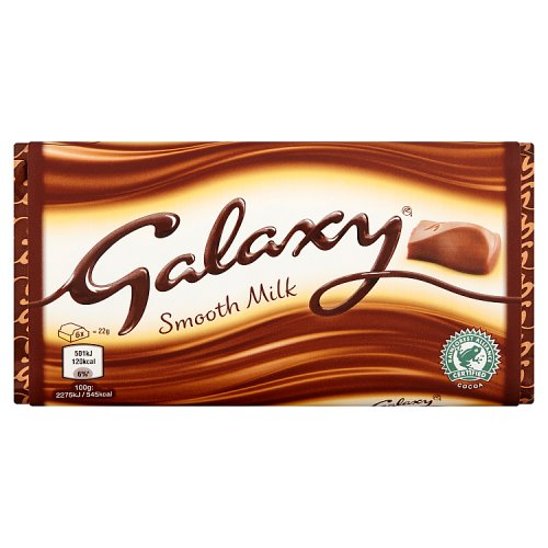 Mars Galaxy Smooth Milk Chocolate Block