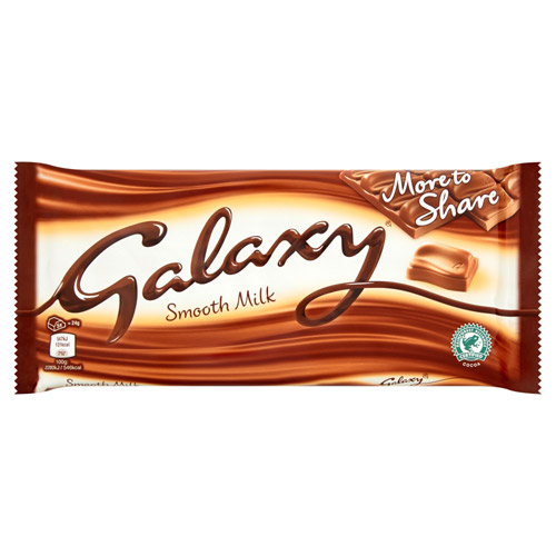 Mars Galaxy Smooth Milk Chocolate More To Share Block