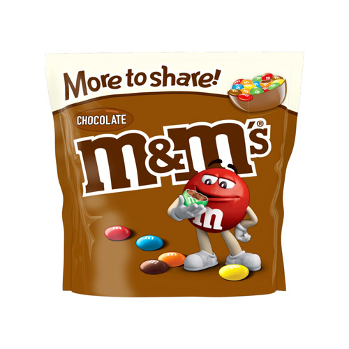 Mars MandM's Chocolate More To Share Pouch