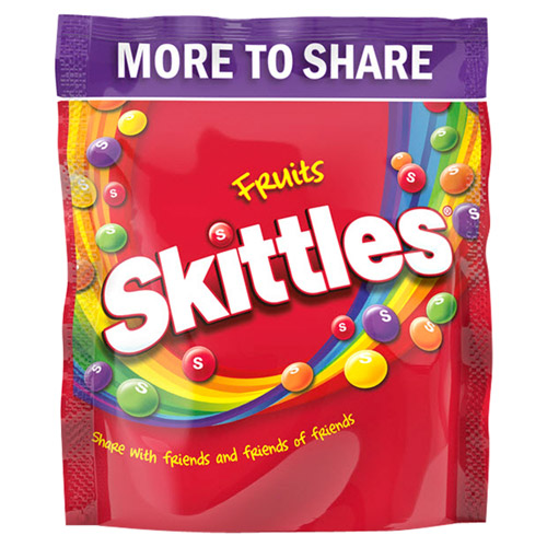 Mars Skittles Fruits Pouch