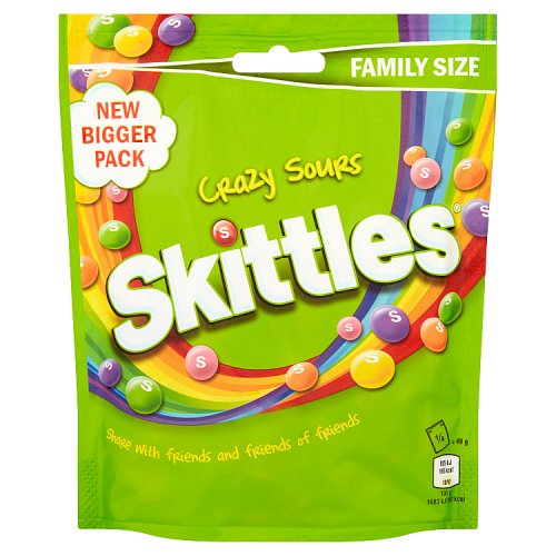 Mars Skittles Sours Pouch