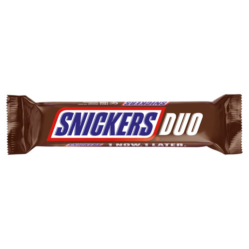 Mars Snickers Duo Chocolate Bar