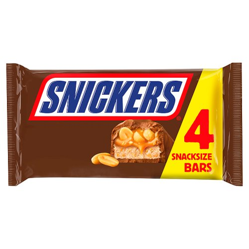 Mars Snickers Snacksize 4 Pack