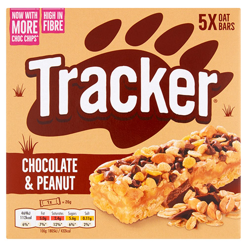Mars Tracker Chocolate Chip Cereal Bar Multipack
