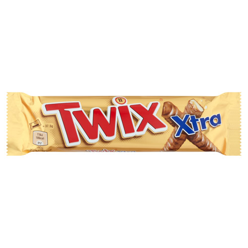 Mars Twix Xtra Chocolate Biscuit Twin Bars