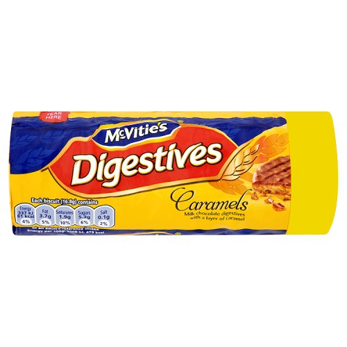 McVities  Milk Chocolate Caramel Digestive