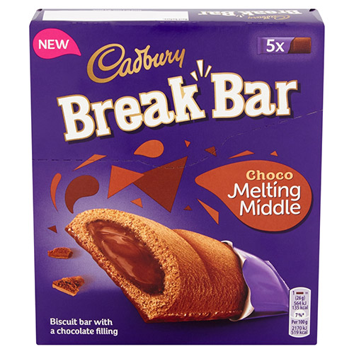 Mondelez Cadbury Break Bar Chocolate