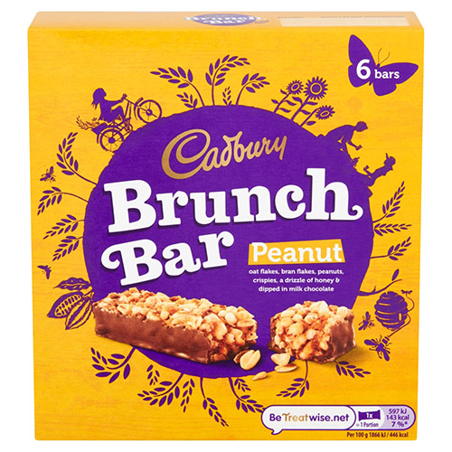 Mondelez Cadbury Brunch Bar Peanut