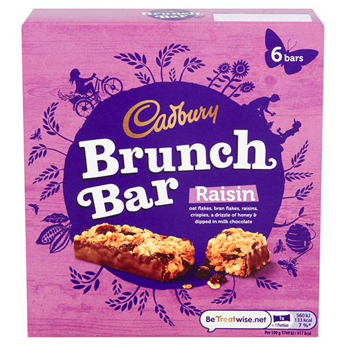 Mondelez Cadbury Brunch Bar Raisin