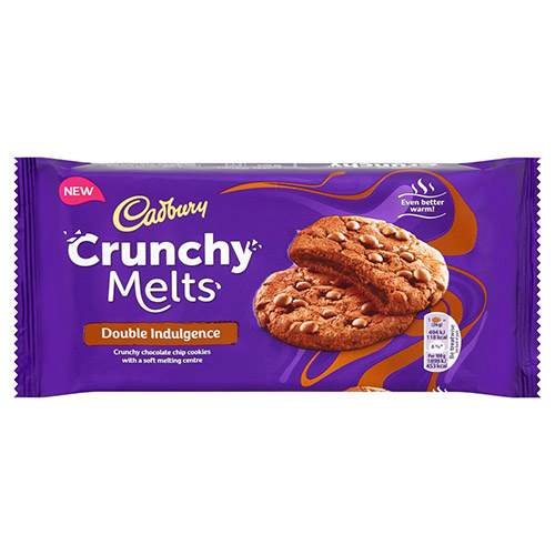 Mondelez Cadbury Crunchy Melts Double