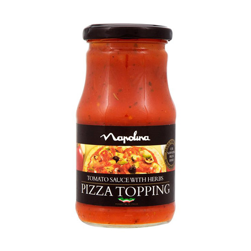 Napolina Tomato And Herb Pizza Topping
