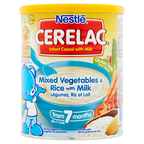 Nestle Cerelac Rice 4 Veg