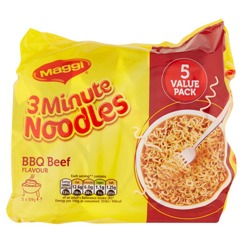 Nestle Maggi 3 Minute Barbecue Beef