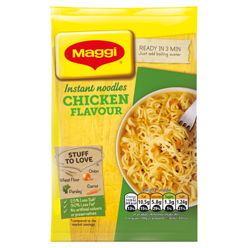 Nestle Maggi 3 Minute Chicken