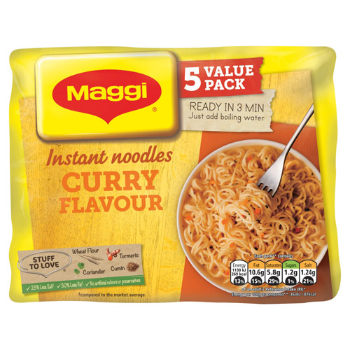 Nestle Maggi 3 Minute Curry
