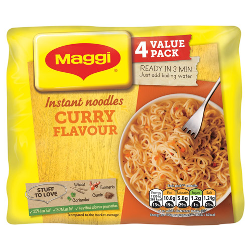 Nestle Maggi 3 Minute Instant Noodle Curry