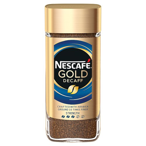 Nestle Nescafe Gold Blend Signature Decaf Jar