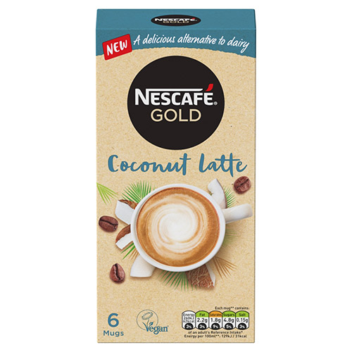 Nestle Nescafe Gold Coconut Latte