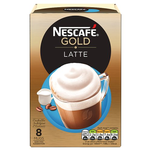 Nestle Nescafe Gold Latte 8 Sachet