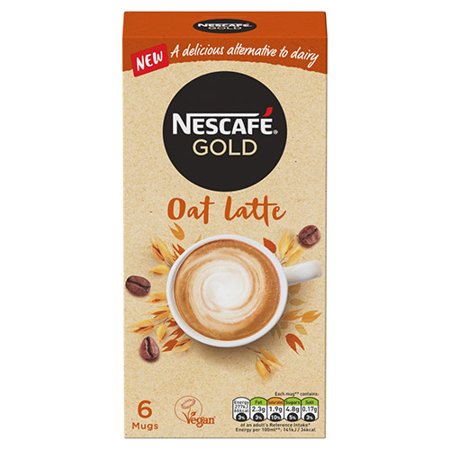 Nestle Nescafe Gold Oat Latte