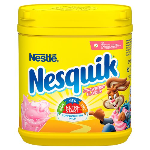 Nestle Nesquik Powder Strawberry