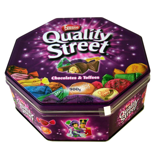 Nestle Quality Street Purple Tin