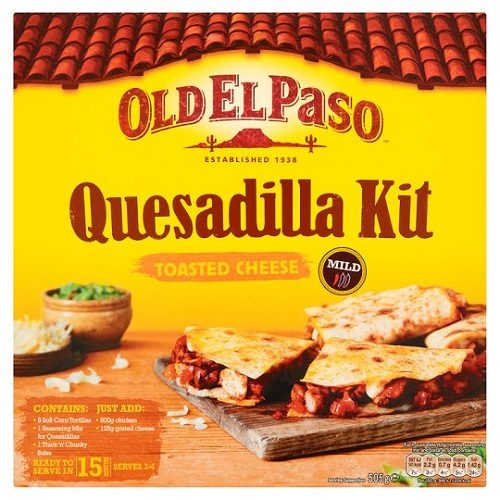 Old El Paso Toasted Cheese Quesadilla Kit