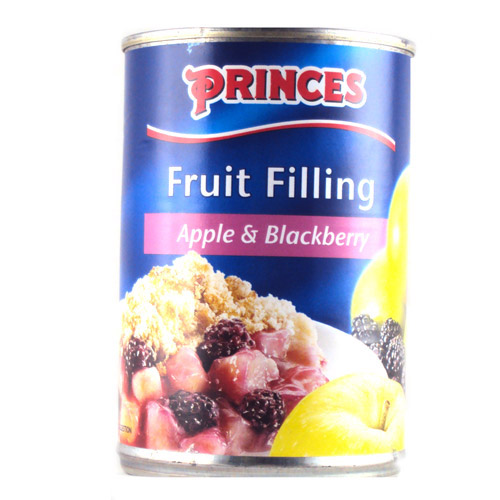 Princes Fruit Filling Apple And Blackberry