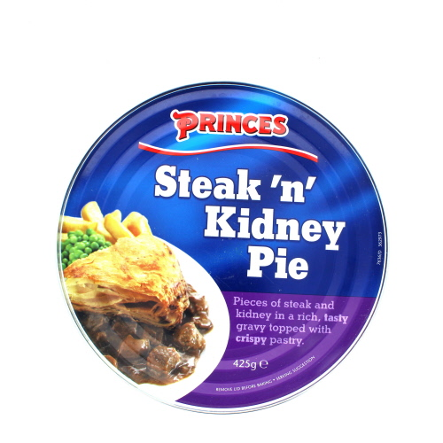 Princes Steak And Kidney Pie 425g - Pallet or Container ...