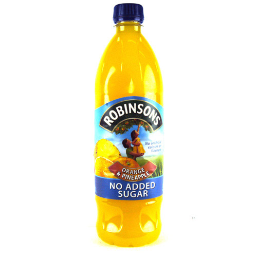 Robinsons Orange and Pineapple Fruit Squash No Added Sugar
