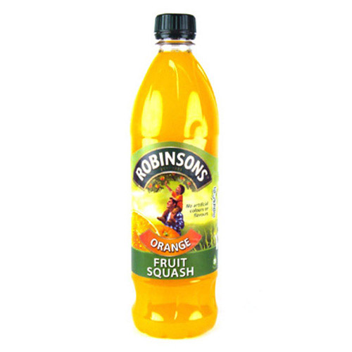 Robinsons Orange Fruit Squash No Added Sugar