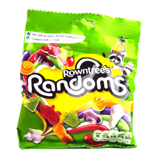 Rowntrees Randoms Bag
