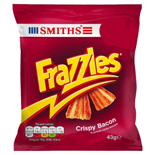Smiths Frazzles Crispy Bacon
