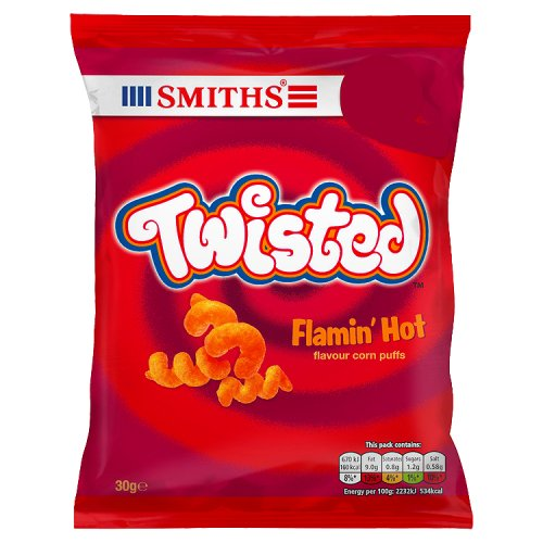 Smiths Twisted Flamin Hot