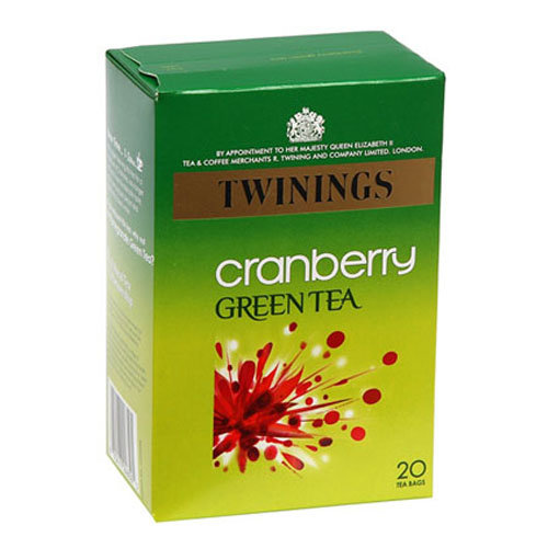 Twinings Cranberry Green Tea 20s