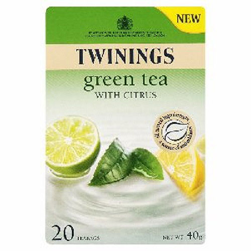 Twinings Green Tea With Citrus 20s