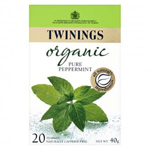Twinings Organic Pure Peppermint 20s