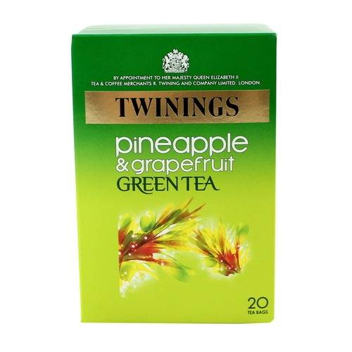 Twinings Pineapple And Grapefruit Green Tea 20s