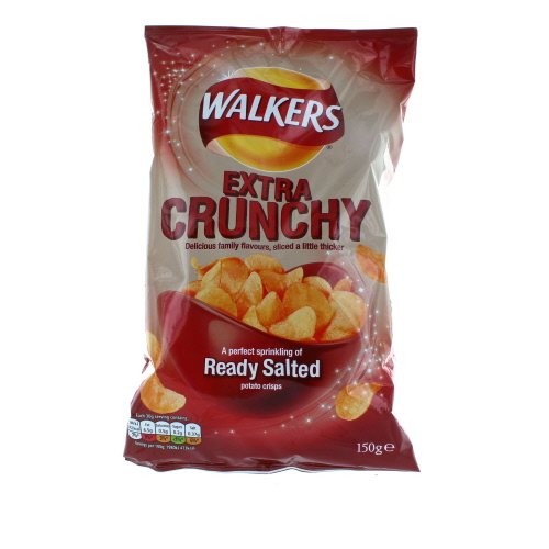 Walkers Extra Crunchy Ready Salted